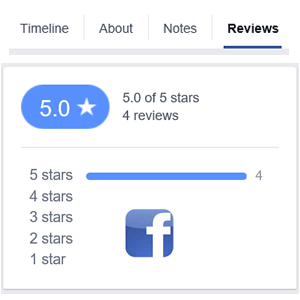 Need POSITIVE Facebook reviews